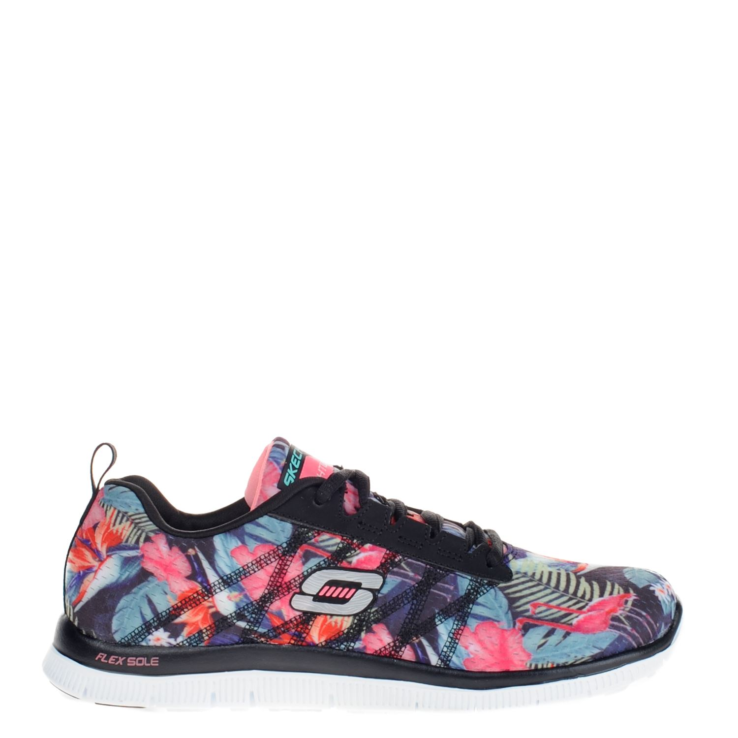 Skechers Dames Skechers Dames Lage Sneakers Zwart
