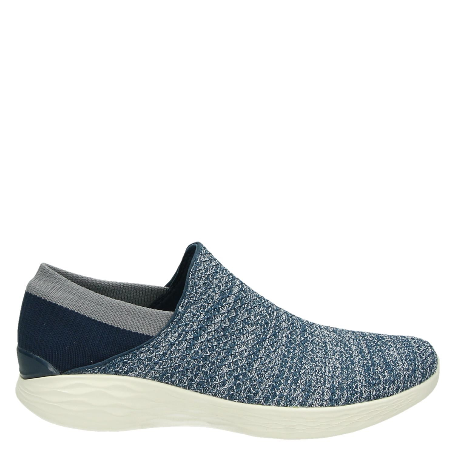 Skechers Dames Skechers You Dames Instapschoenen Blauw