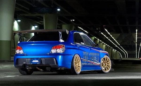 Modified Sports Car Wallpaper 2006 Zero Sports Impreza Wrx Review Top Speed