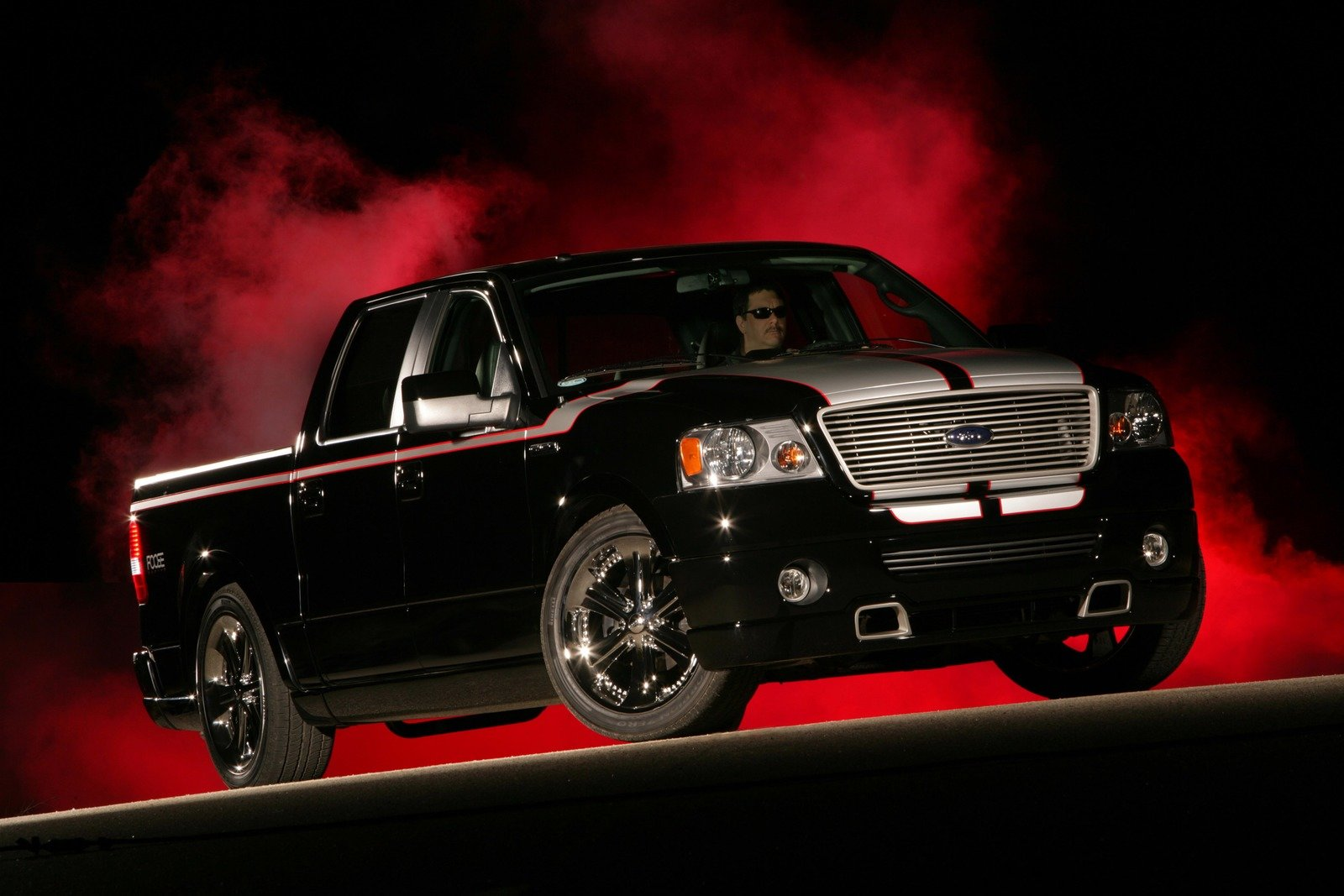 Red Star 3d Wallpaper 2008 Ford F 150 Foose Edition Review Top Speed