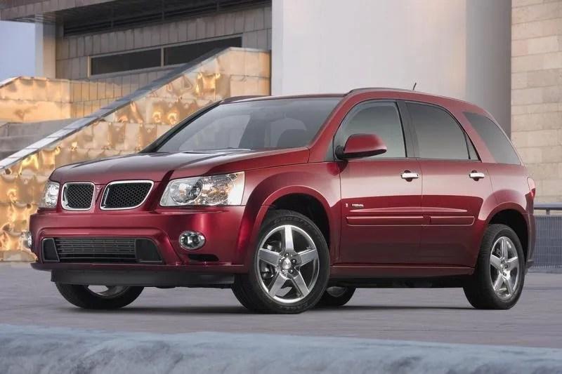 2008 Pontiac Torrent GXP Top Speed