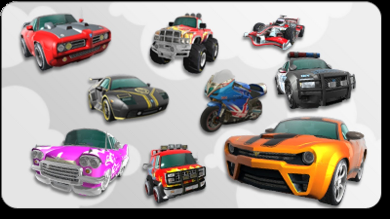 Big W Toy Cars Burnout Paradise Toy Collection Pack News Top Speed