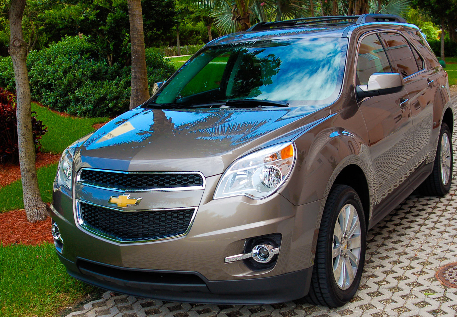 Car Jack 2010 Chevrolet Equinox Awd 2lt Review - Top Speed