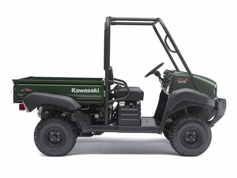 2012 Kawasaki Mule 4010 4x4 Diesel Top Speed