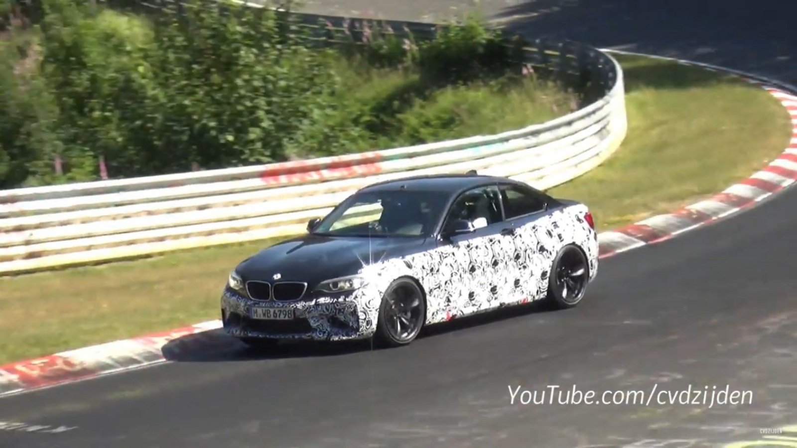 Bmw M2 Top Speed Bmw M2 Returns To Nurburgring Video News Top Speed