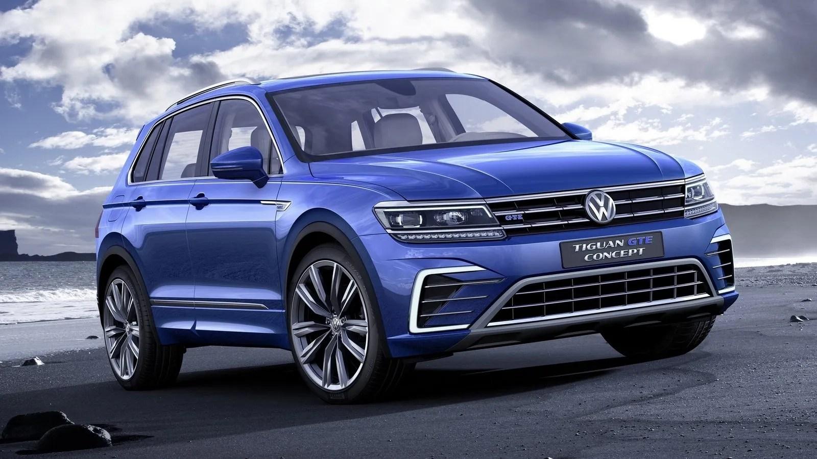 Car Display Wallpaper Vw 2016 Volkswagen Tiguan Gte Top Speed