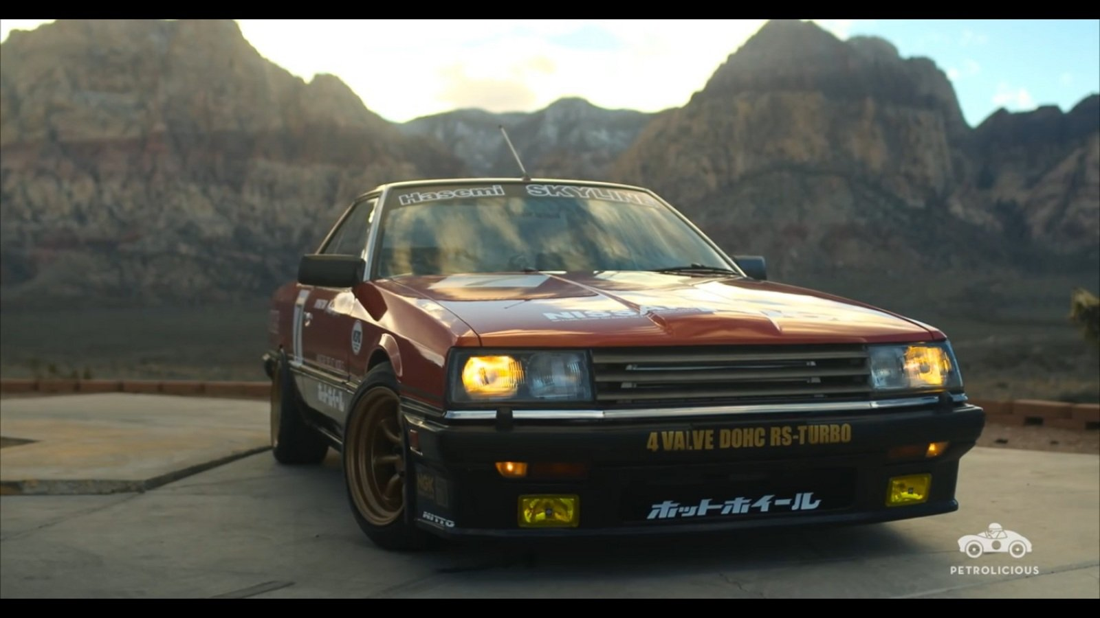 Container Garage Petrolicious Takes A Look At A Nissan Skyline Dr30: Video