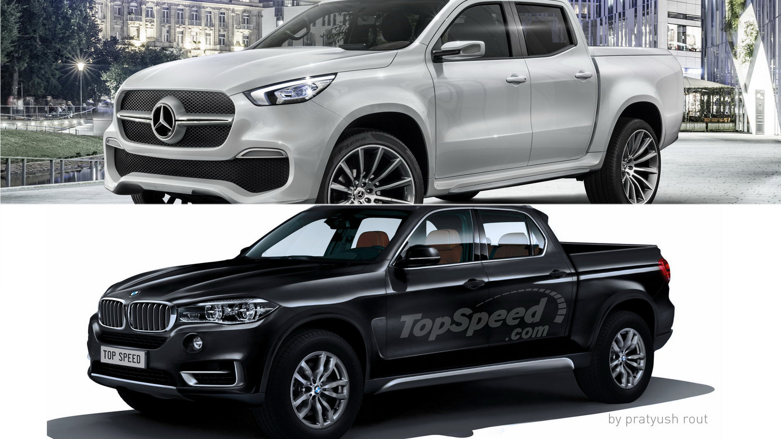 Mb X? S? Mercedes X Class Vs Bmw Pickup Picture 693276 Truck