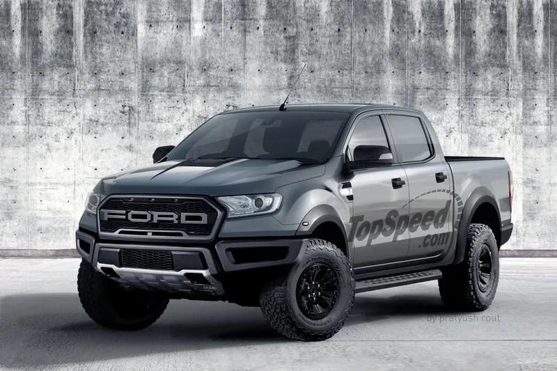 2019 Ford Ranger Raptor Top Speed