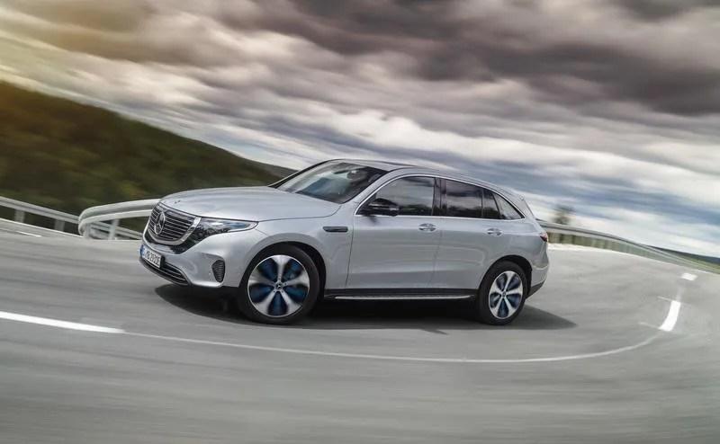 2019 Mercedes-Benz EQC Top Speed