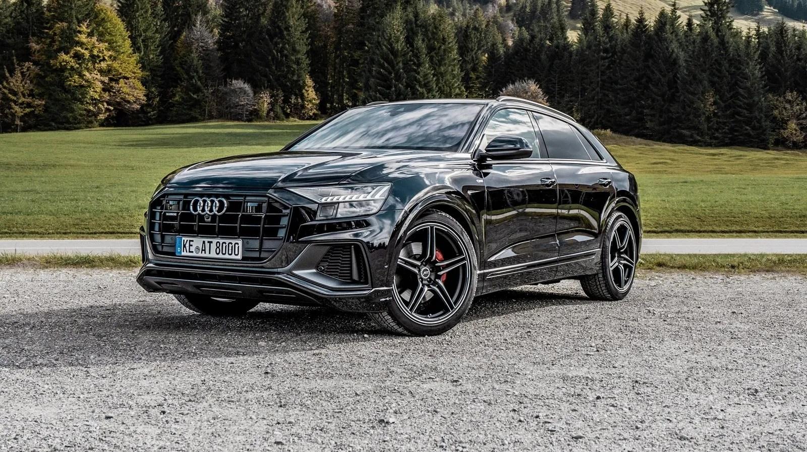 Matte Black Wallpaper 2018 Audi Q8 By Abt Top Speed