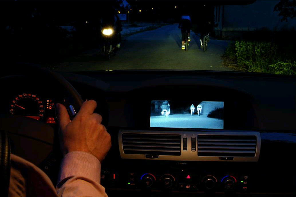Car Interior Wallpaper Bmw Night Vision Available In The 5 And 6 Series As Of