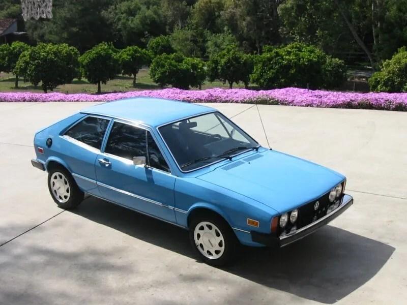 1974 - 1992 Volkswagen Scirocco History Top Speed