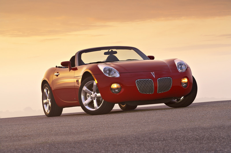 2007 Pontiac Solstice Top Speed