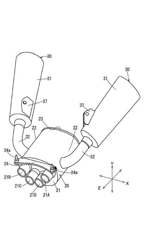 2008 Yamaha V-max Patents Revealed Top Speed