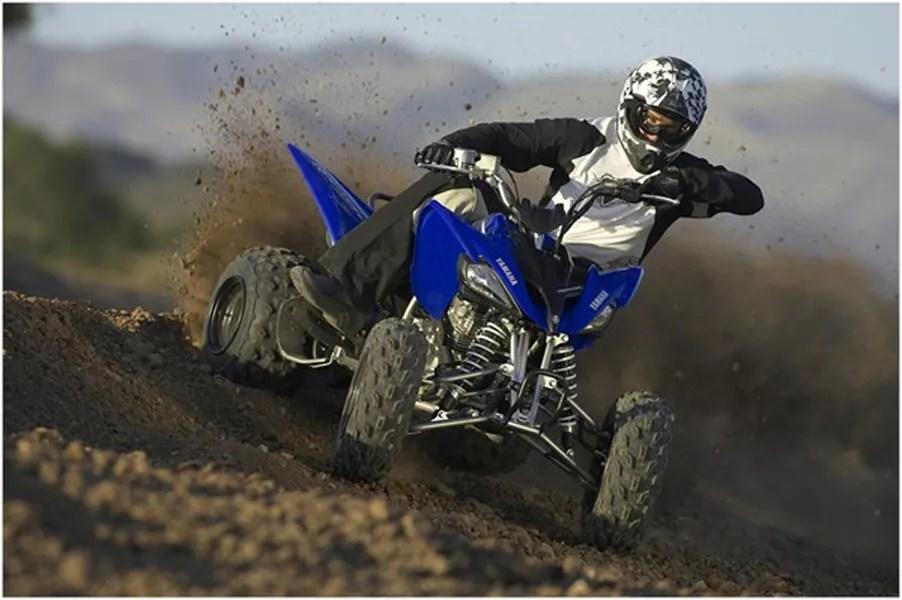 2008 Yamaha Raptor 250 Top Speed
