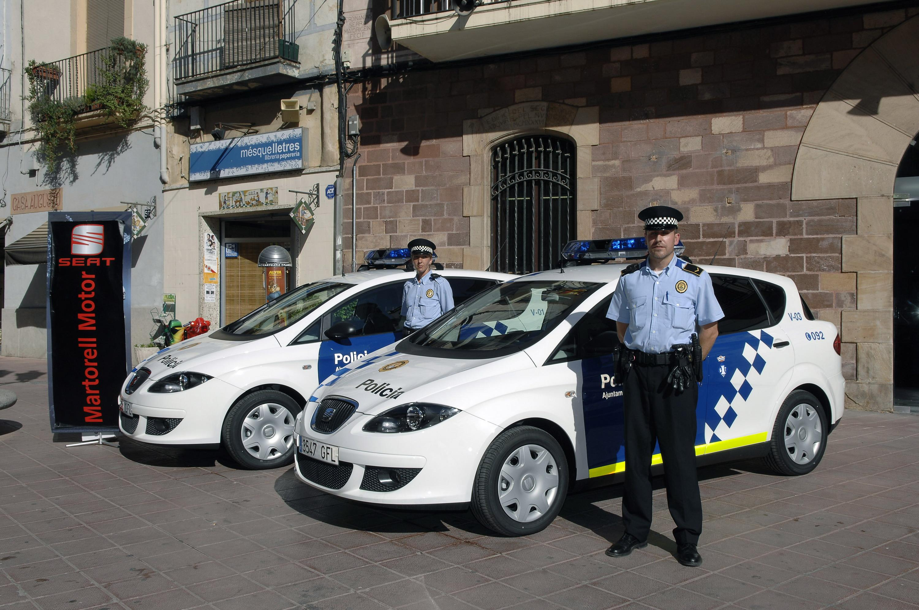 Hp Xl 2008 Seat Toledo Police Car | Top Speed