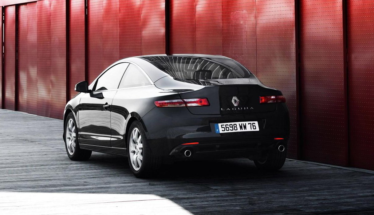 The Cars 2 Wallpaper 2009 Renault Laguna Coupe Black Edition Top Speed