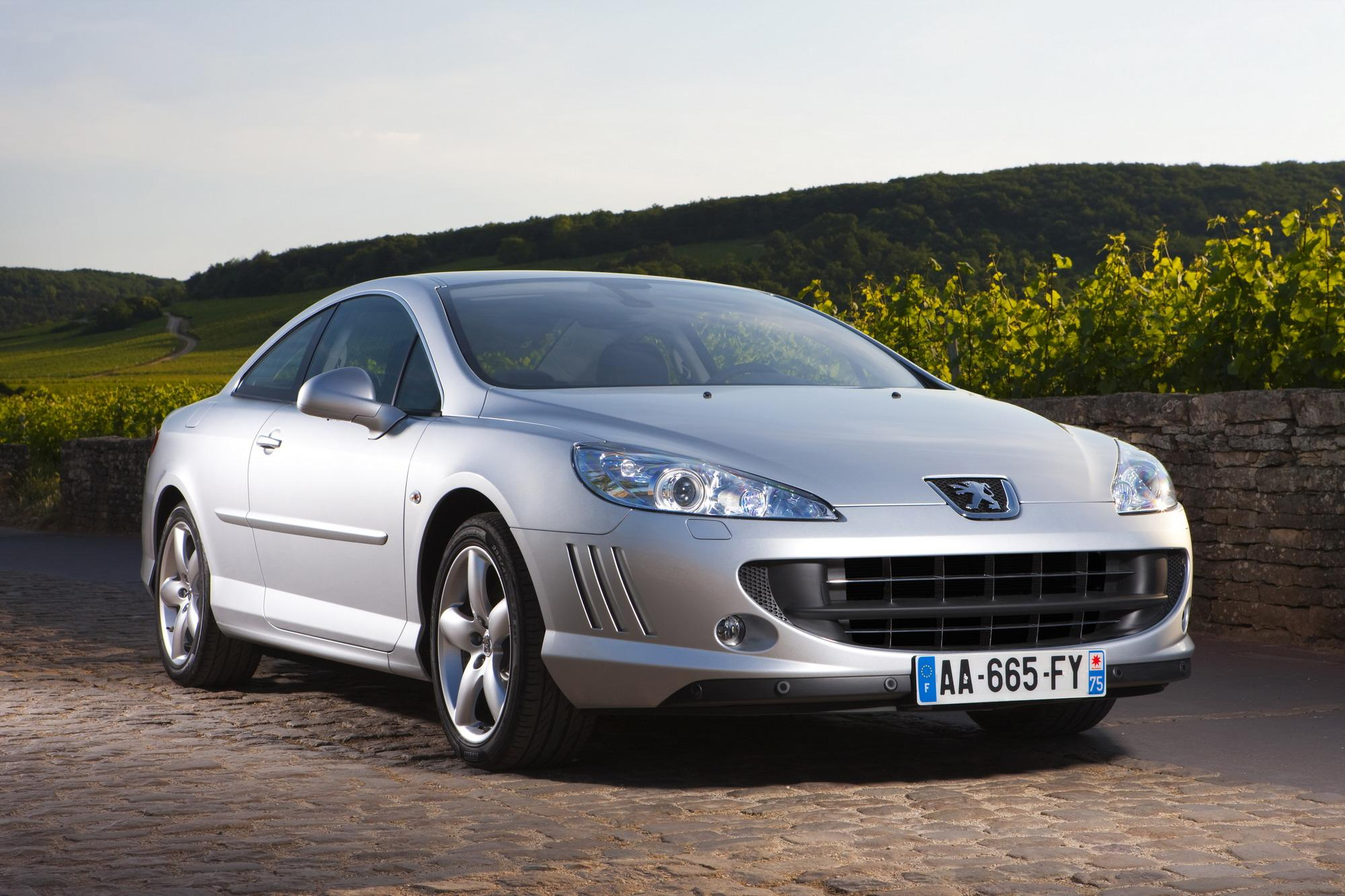 Coupe Peugeot 2009 Peugeot 407 Coupe Top Speed