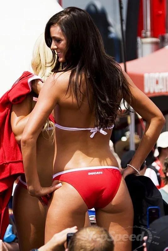 Hawaiian Tropic Girl Wallpaper Gp Girls Show Off At Ducati Fashion Show Picture 333755