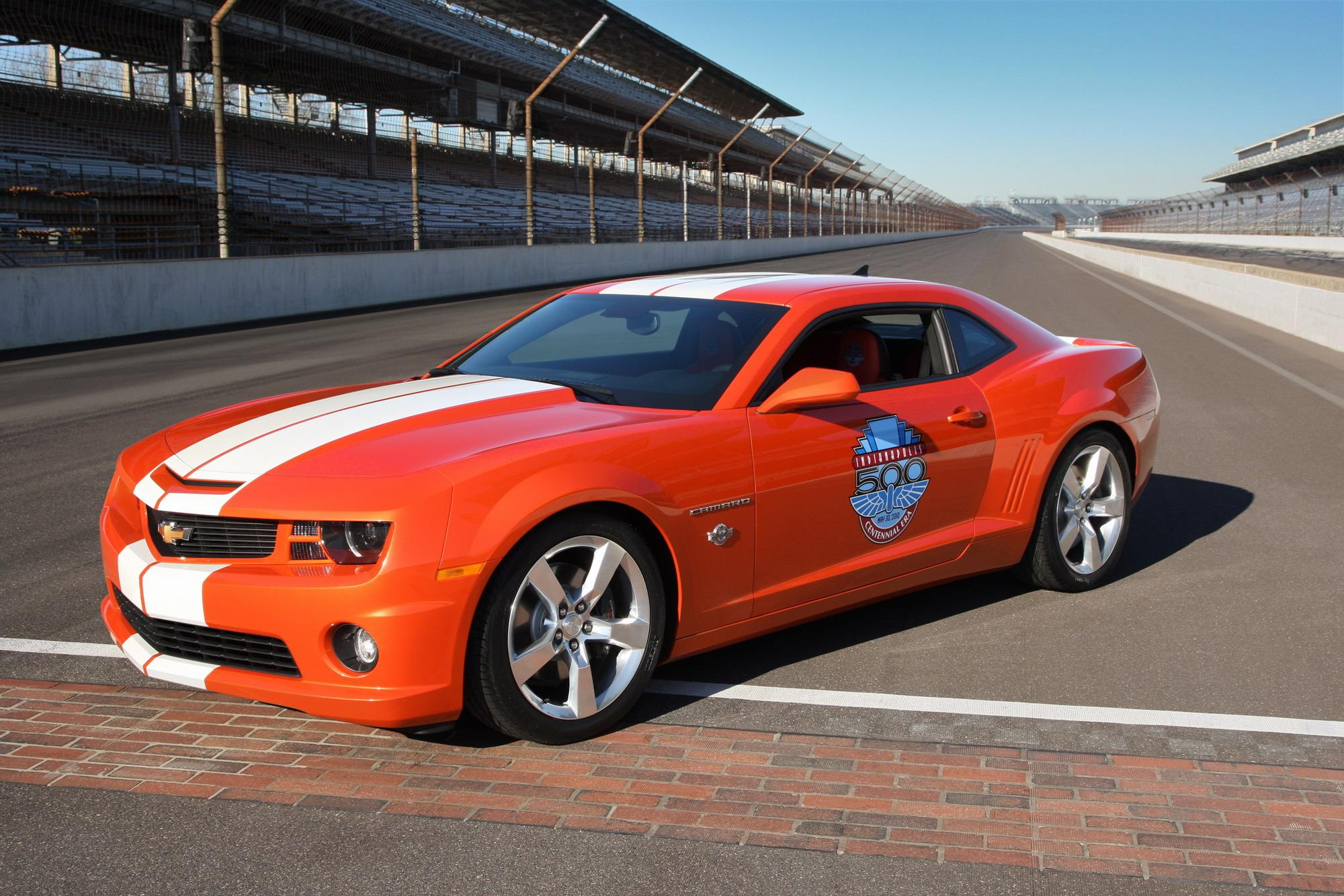 Safety Car Light Bar 2010 Chevrolet Camaro Ss Indianapolis 500 Pace Car Top Speed