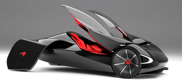 Bosse Design Mclaren Jetset Could Preview Future Minimalist Supercar