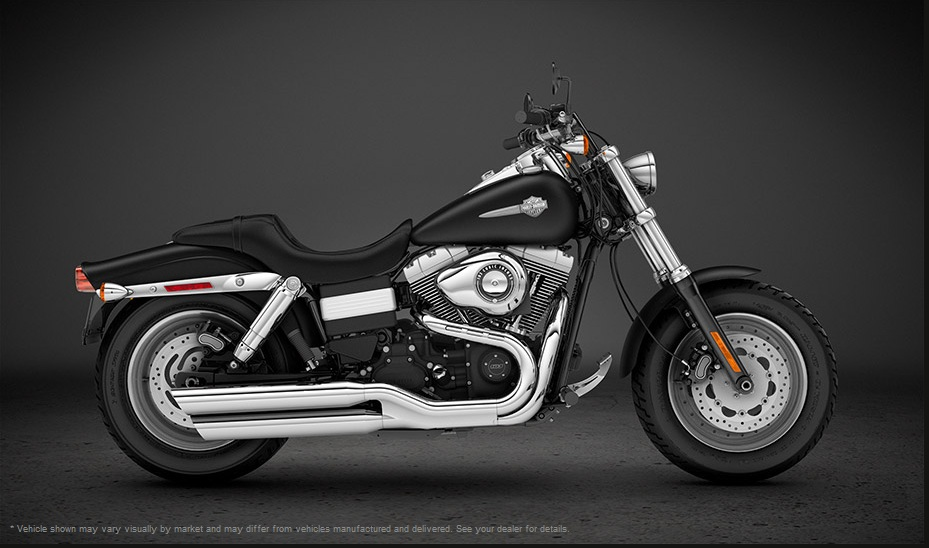 2013 Harley-Davidson Dyna Fat Bob - International Version Top Speed