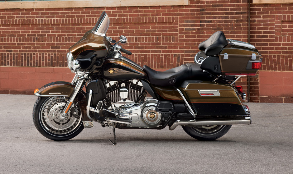 2013 Harley-Davidson Touring Electra Glide Ultra Limited Top Speed