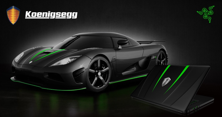 Latest Car Wallpaper 2014 Limited Edition Gaming Laptop By Koenigsegg And Razer
