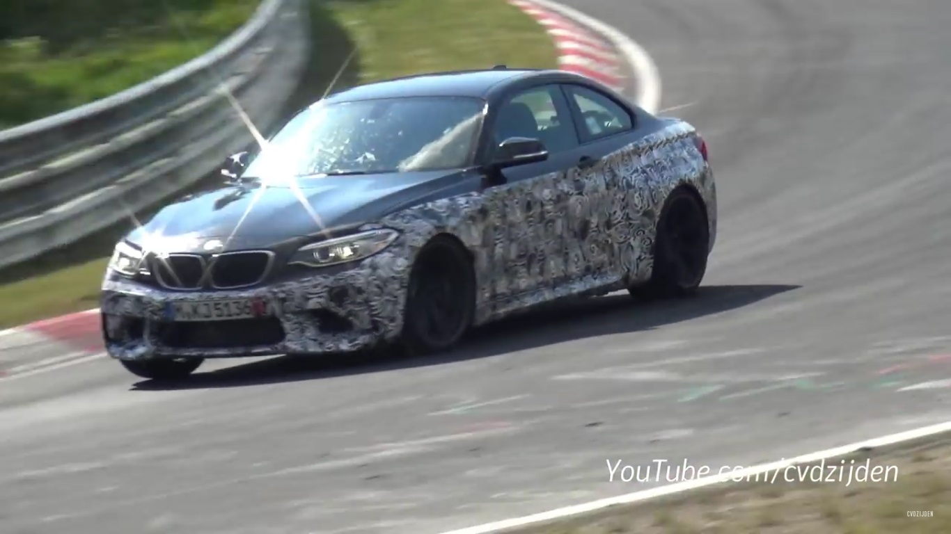 Bmw M2 Top Speed Bmw M2 Caught Testing At Nurburgring Video News Top Speed