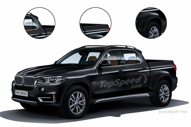 BMW X7 Pickup Could Be BMW\u0027s Answer To The Mercedes X-Class Top Speed