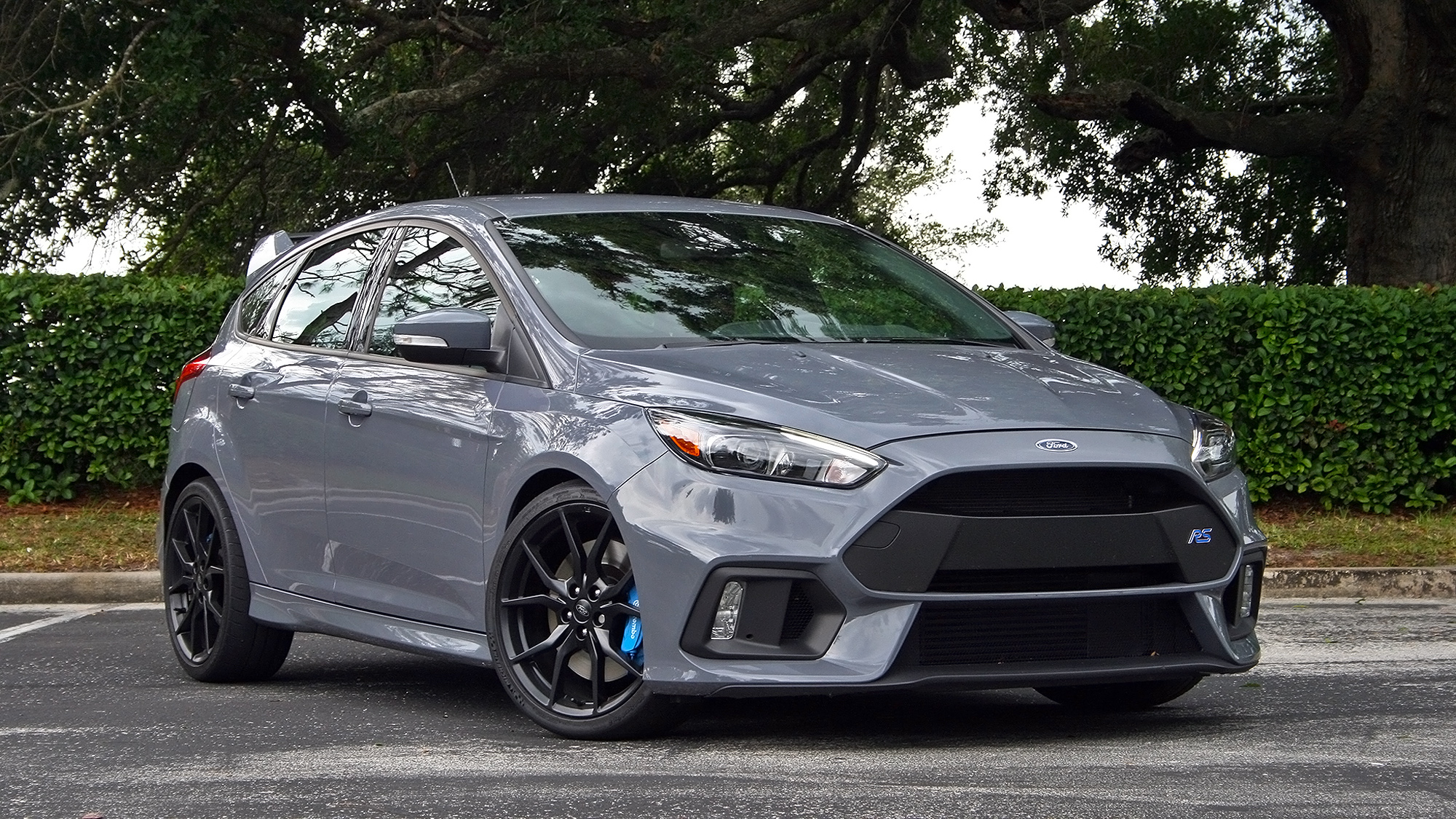 Ford Focus Rs Grey 2016 Ford Focus Rs Driven Top Speed
