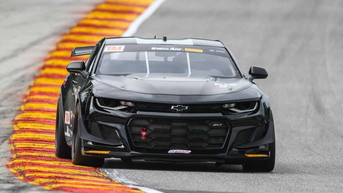 Muscle Car Pictures Wallpaper 2018 Chevrolet Camaro Ss Trans Am Ta4 Spec Race Car Top