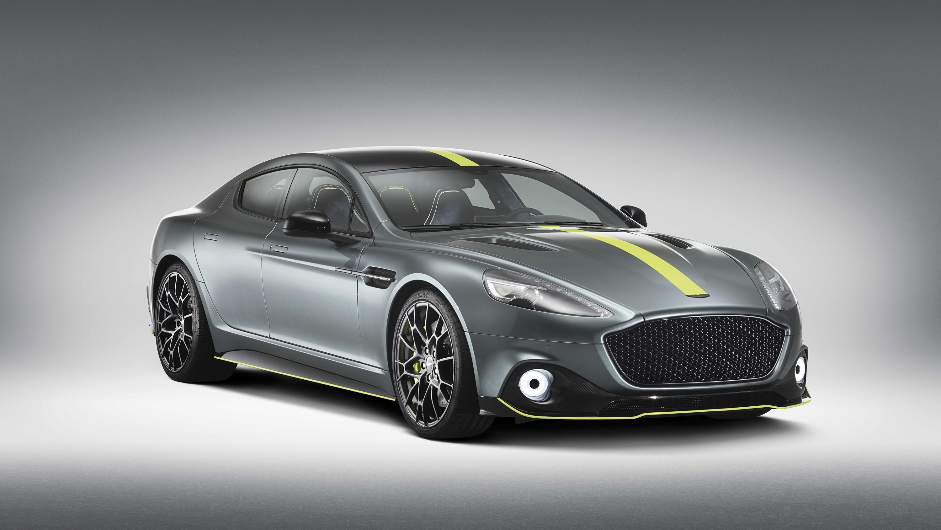 Car Black And Green Wallpaper 2019 Aston Martin Rapide Amr Top Speed