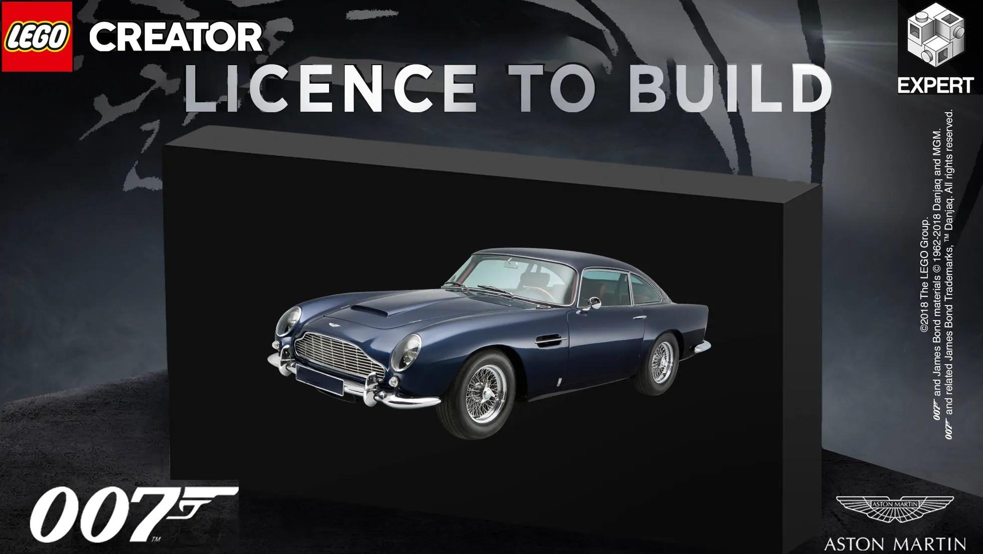 James Bond Car Wallpaper Aston Martin Teases James Bond S Db5 Lego Kit Top Speed