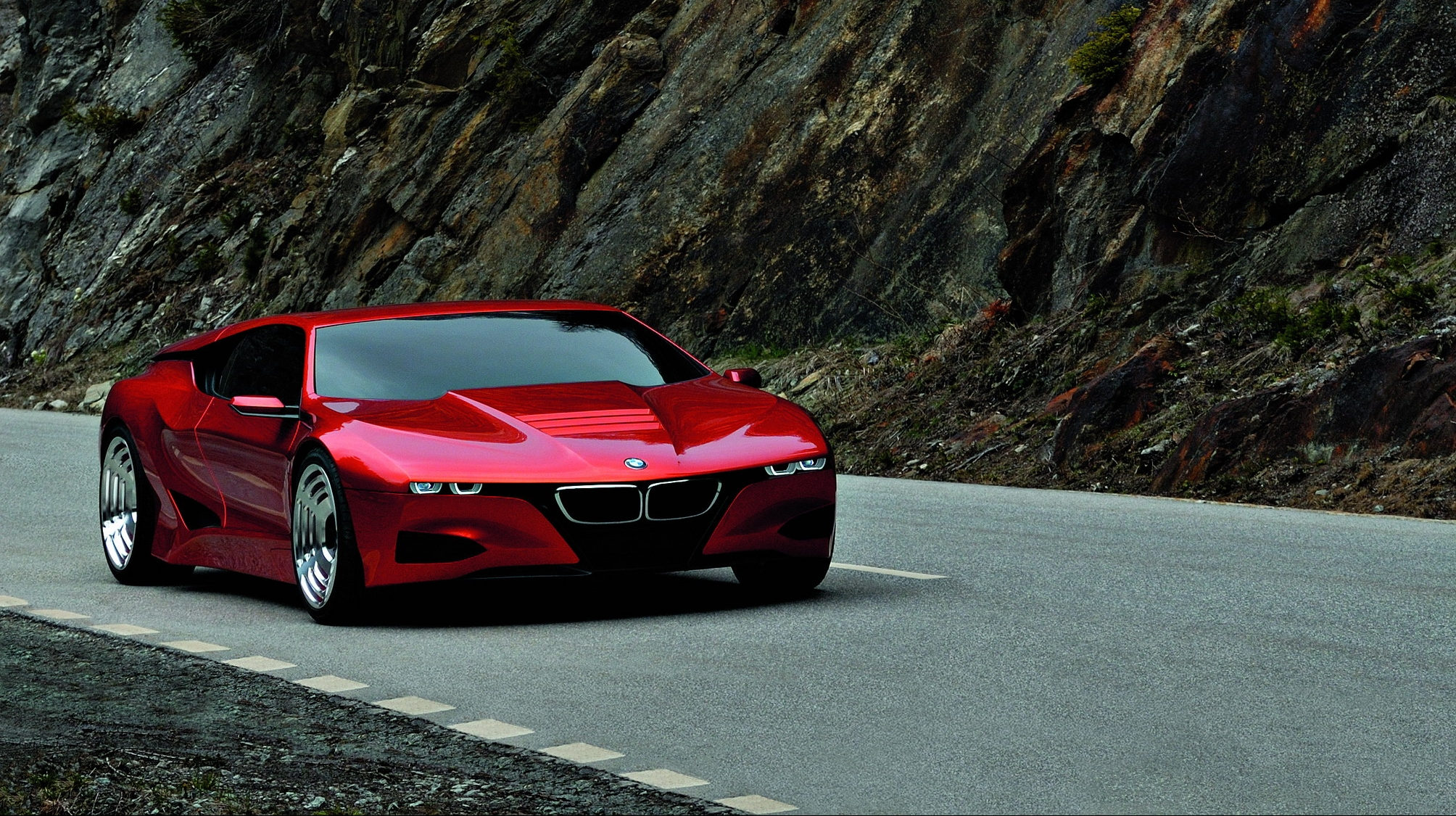 Future Car Wallpaper 2008 Bmw M1 Hommage Top Speed