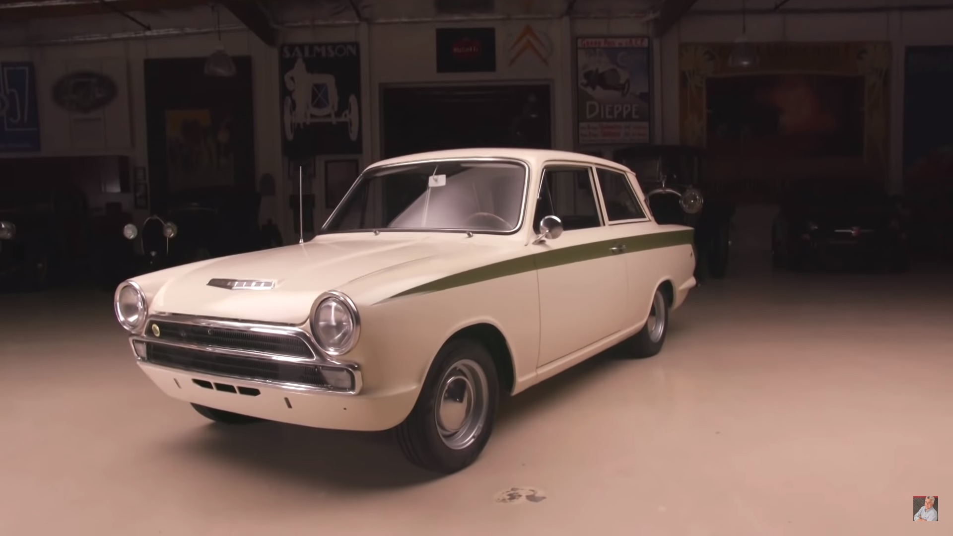 Garage Volkswagen Dieppe Jay Leno S Garage Gives Some Love To The 1966 Lotus Ford Cortina