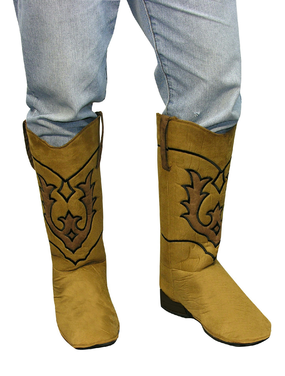 Cowboy Boot Top Covers Costume Accessory Ebay