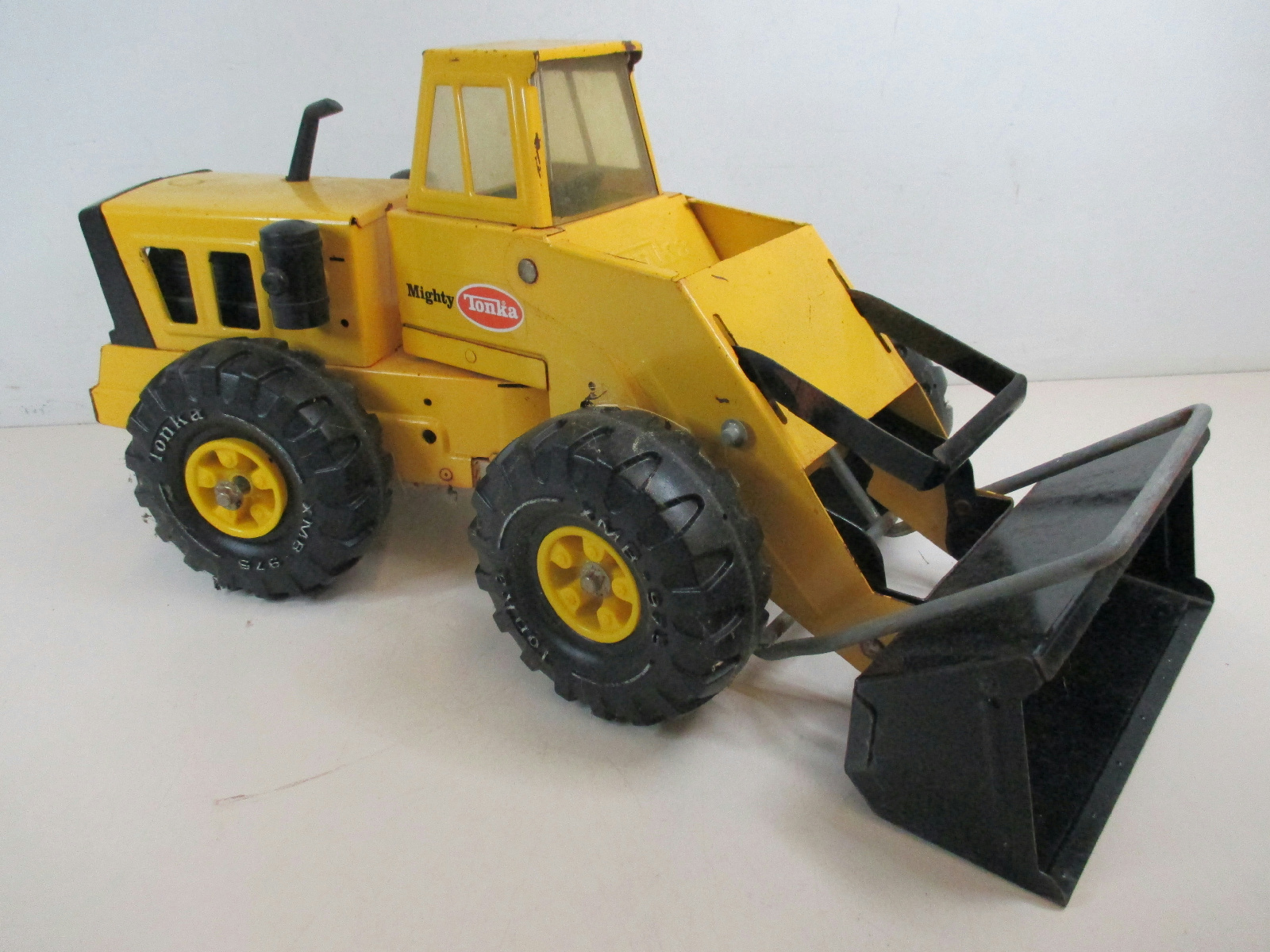 Mighty Vintage Vintage Mighty Tonka Front End Loader Pressed Steel Toy