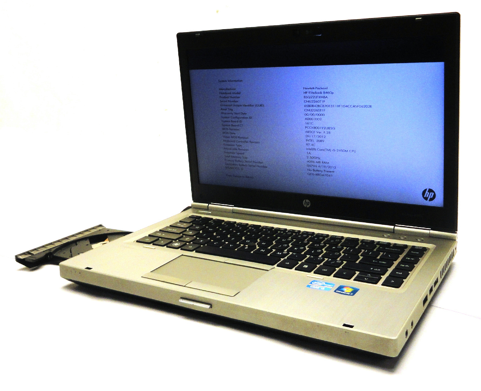 Hp Elitebook 8460p Hp Elitebook 8460p 14 Quot Laptop 2 50ghz Core I5 2450m