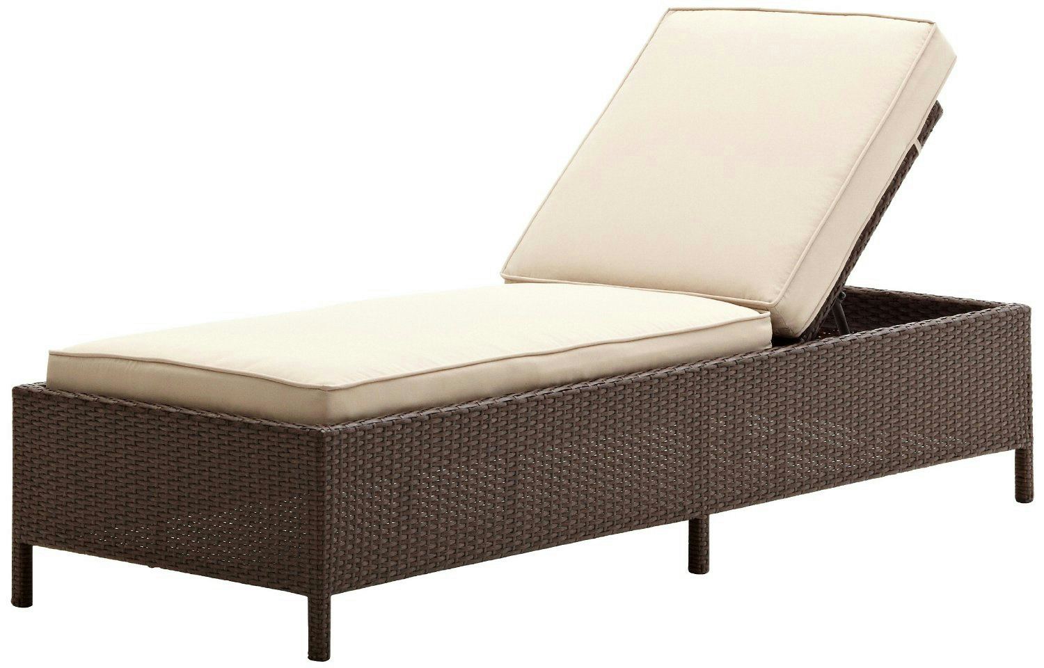 Lounge Rattan Strathwood Griffen All Weather Wicker Chaise Lounge Ebay
