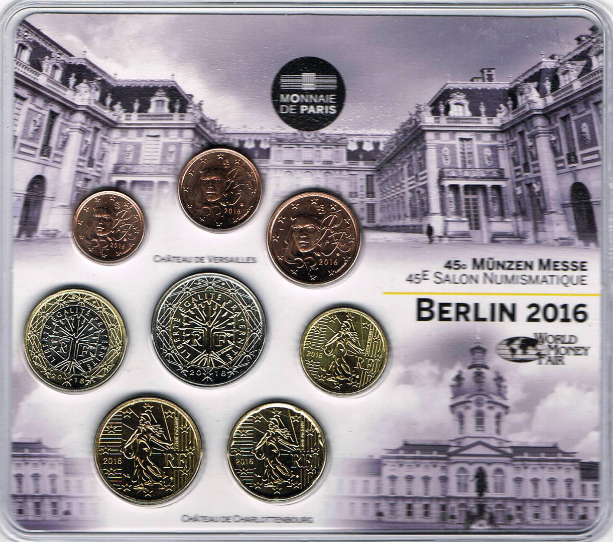 Salon Numismatique France Série Euro 2016 Salon Numismatique De Berlin