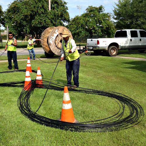 Fiber Installation - Piedmont Utility Group