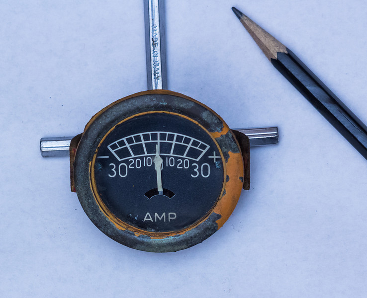 re-wiring ammeter - Yesterday\u0027s Tractors