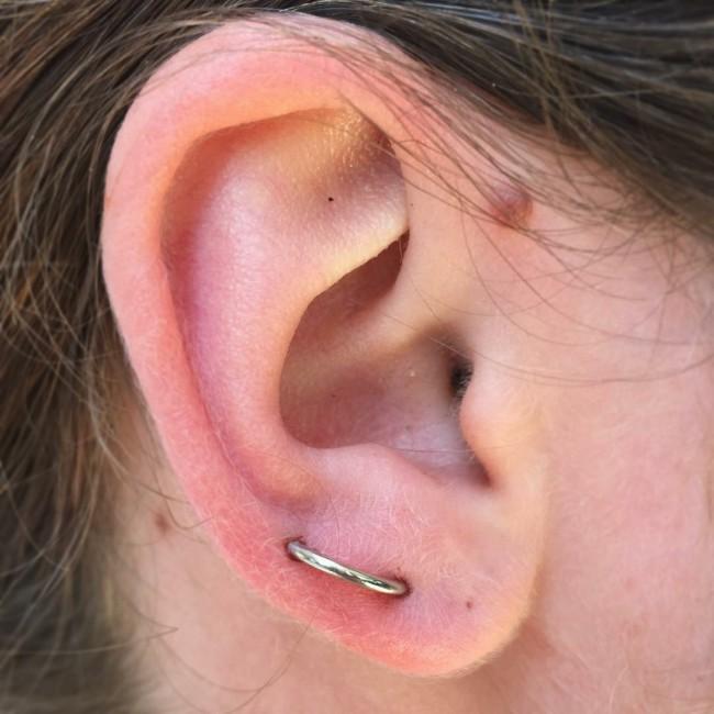 Orbital Piercing 50 Ideas Pain Level, Healing Time, Cost