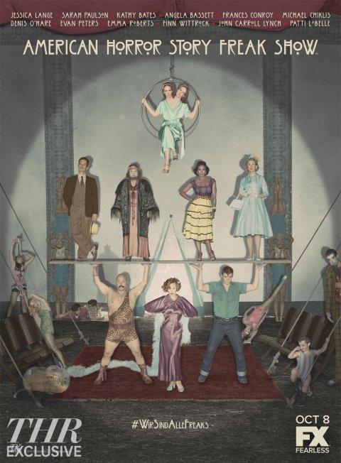 Poster - American Horror Story Freak Show - 2014