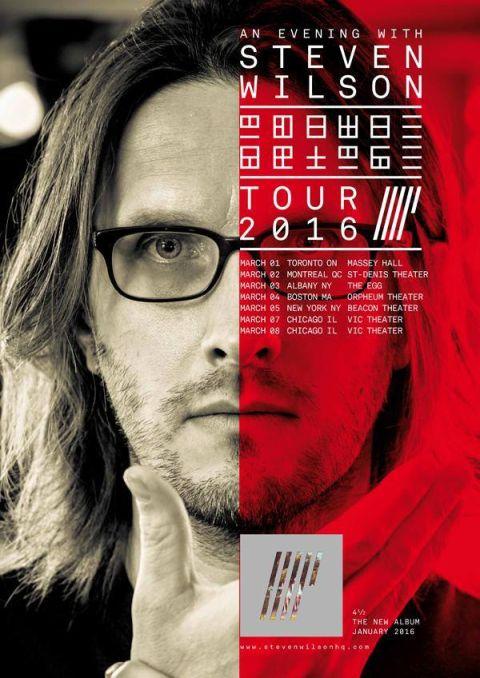 Tour - Steven Wilson - 2016