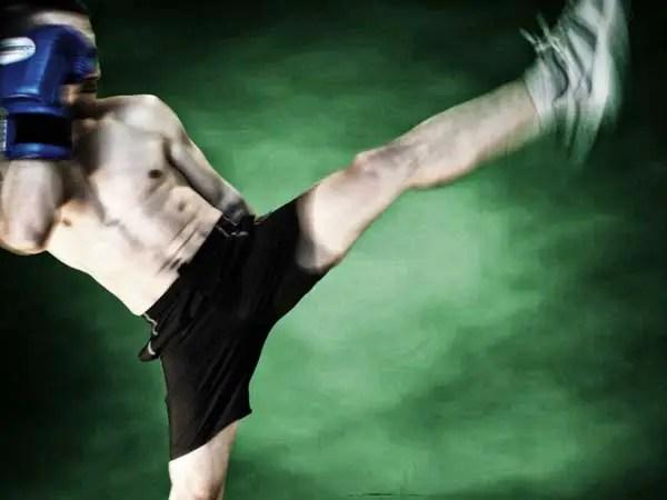 Entrenamiento de kick boxing para adelgazar: