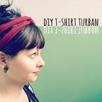 DIY: No-Sew T-Shirt Turban