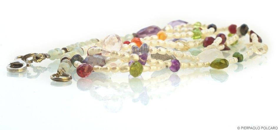 Still Life gioielli, collana perle